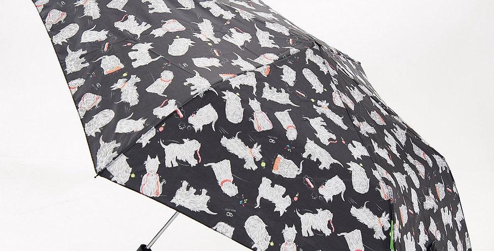 Eco Chic Folding recycled umbrella - Scatty Scottie