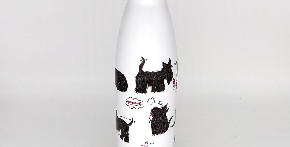 Chilly style Eco Chic Scottie Dog water bottle