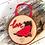 Thumbnail: Scottie Dog Log Hanging Decoration