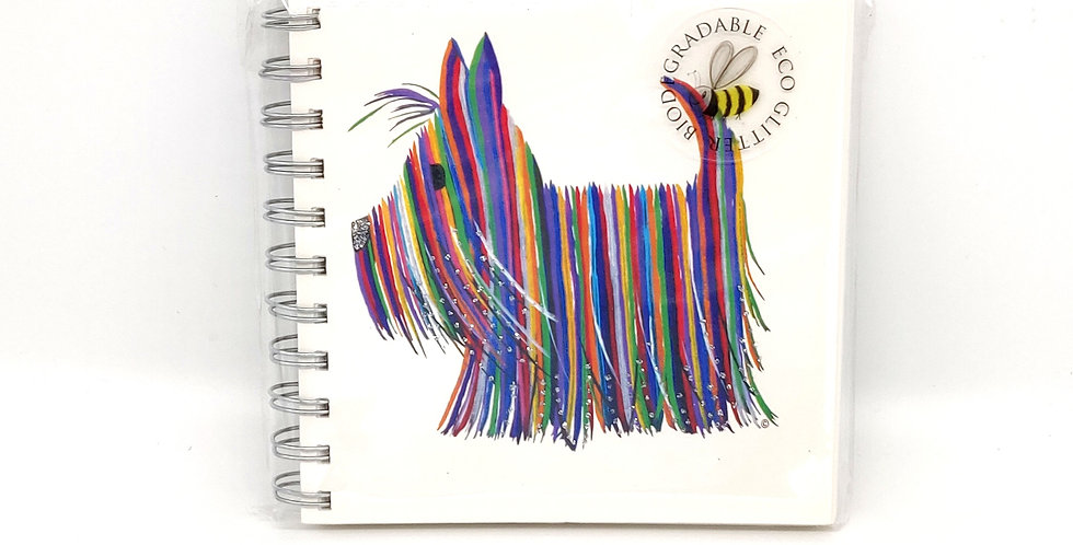 Scottie Dog - 'Hector' Small Notebook