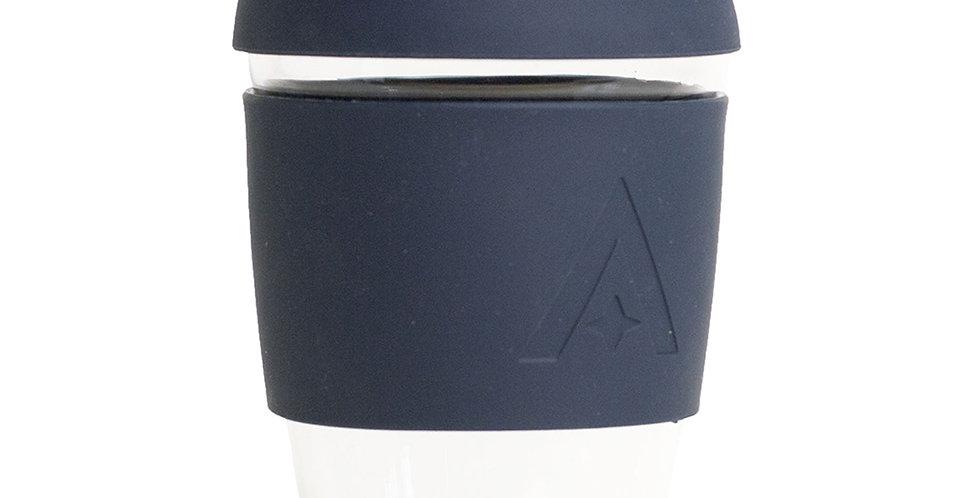 Glass Travel Coffee Cup - Mood Indigo