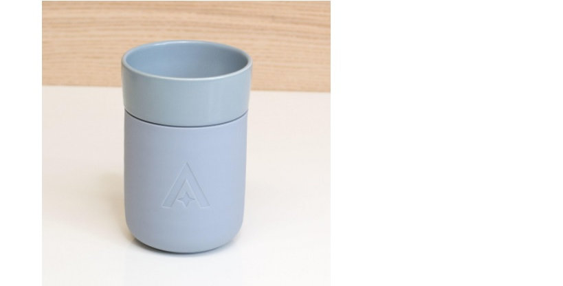 Carry Travel Coffee Cup - Cool Blue