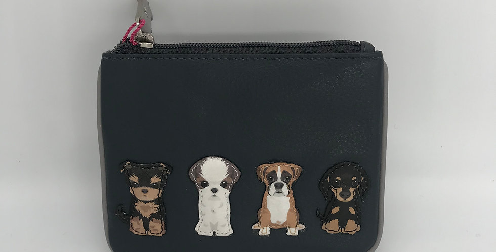 Grey Purse - Boxer, Terrier, border collie
