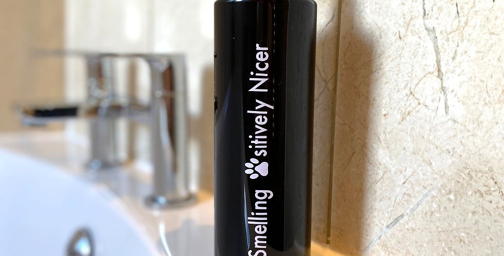 Dog Shampoo Pump Bottles - Smelling......... - Black