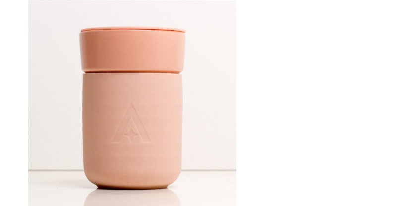 Carry Travel Coffee Cup - Blush Pink