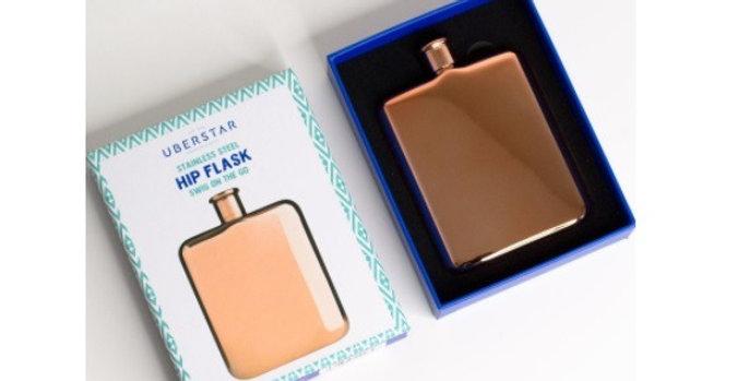 Hip Flask - Rose Gold