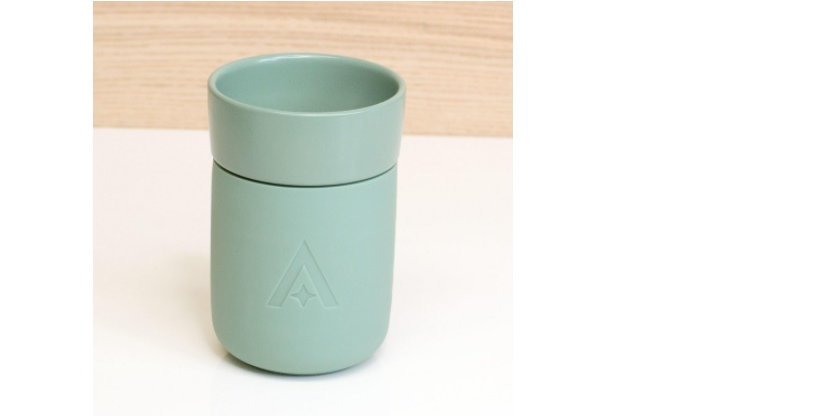 Carry Travel Coffee Cup - Sage Green