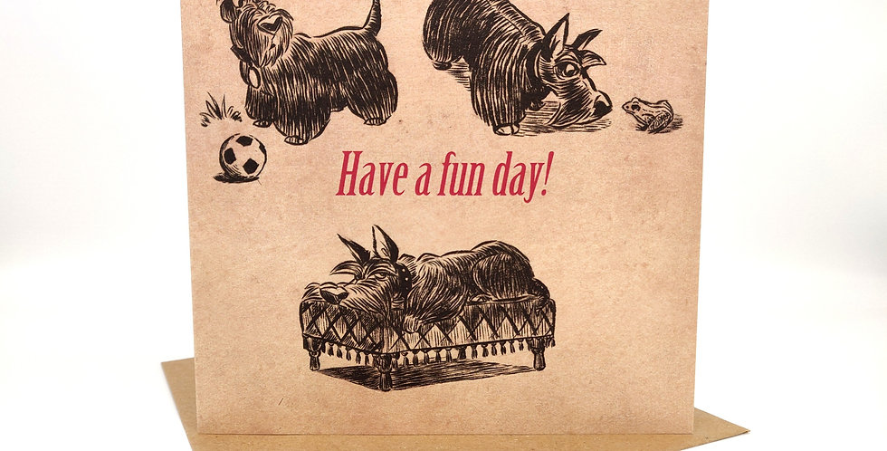 'Have a fun day' Greeting Card