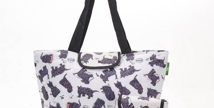 Eco Chic Cool bag - Scatty Scottie Dog large & recycled