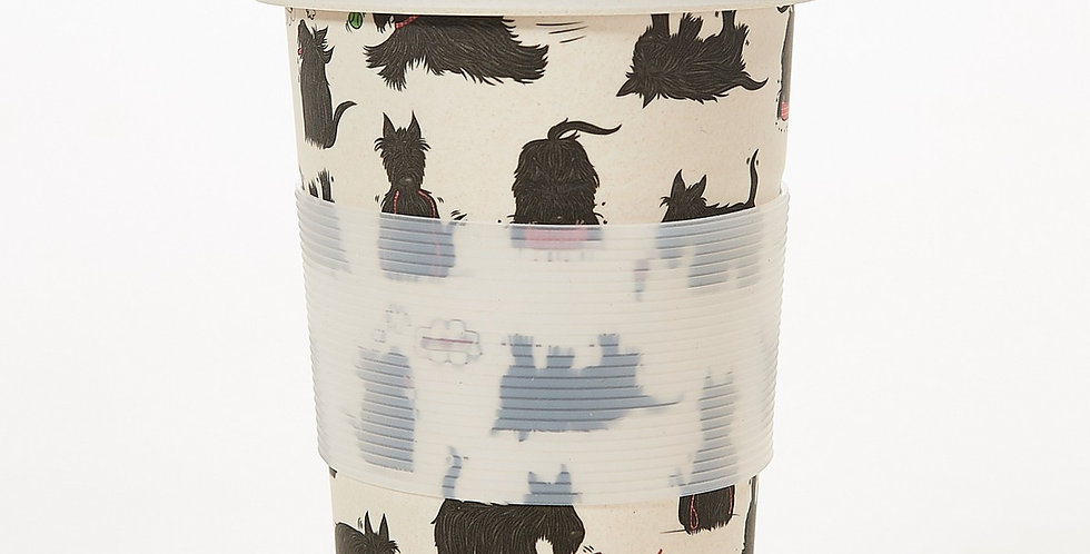 Eco Chic Bamboo Travel cup - Scatty Scottie