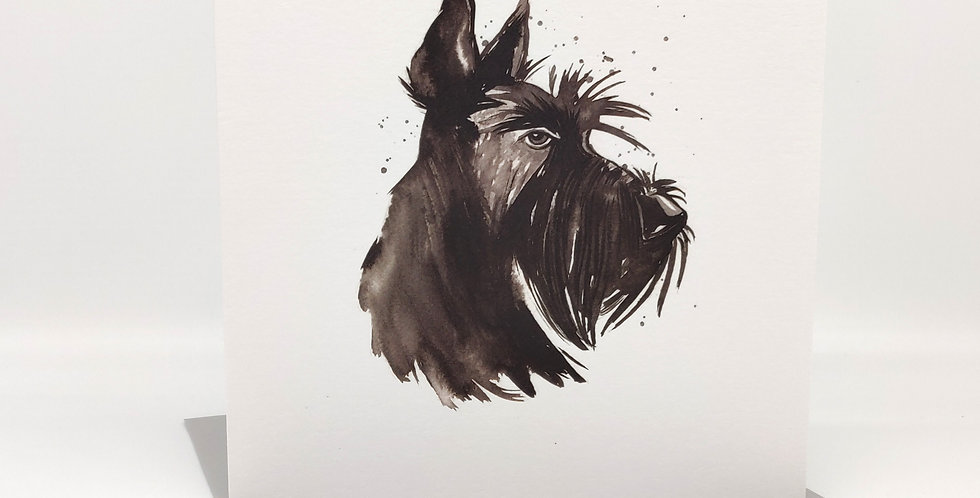 'Classic Scottie' Greeting Card