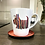 Thumbnail: Scottie Dog Latte Mug - Hector Original Print