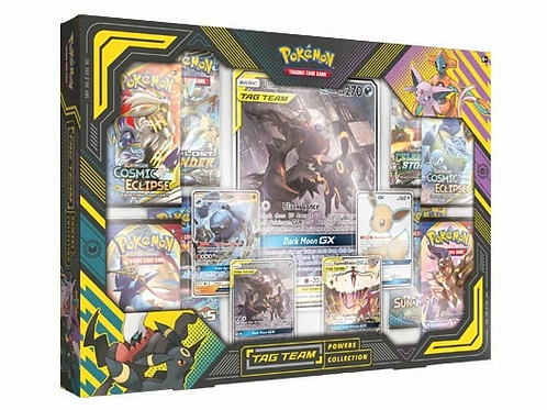 Pokemon TCG Tag Team Powers Collection DARKRAI & UMBREON
