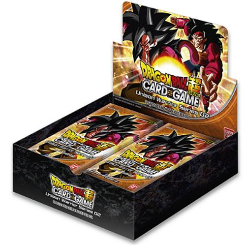 Dragon Ball Super - Unison Warrior 2 Vermillion Bloodline Booster Box