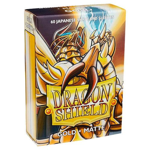 Dragon Shield Japanese Matte Gold 60ct