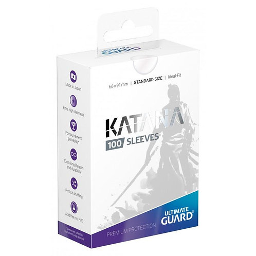 Ultimate Guard - Katana Sleeves - 100ct Clear