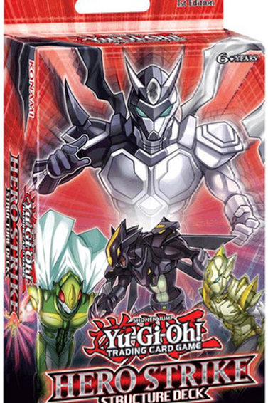 Yu-Gi-Oh! Hero Strike Structure Deck Unlimited Edition