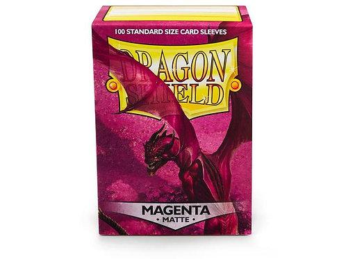 Dragon Shield Matte Magenta 100ct