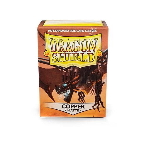 Dragon Shield Matte Copper 100ct
