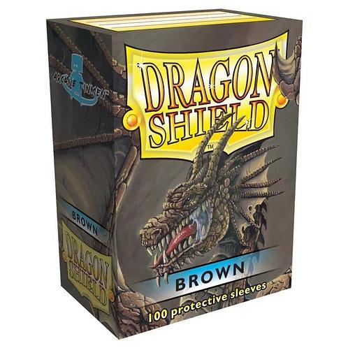 Dragon Shield Classic Brown 100ct