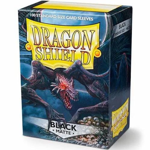 Dragon Shield Matte Black 100ct