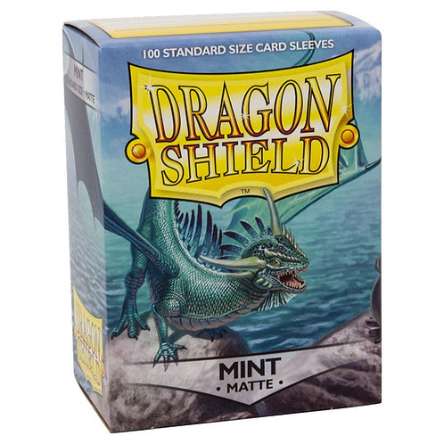 Dragon Shield Matte Mint 100ct