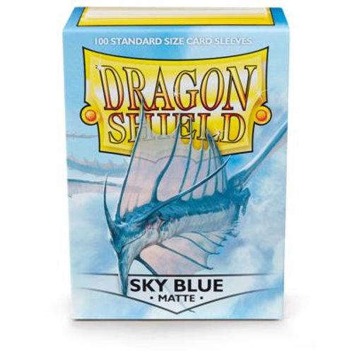 Dragon Shield Matte Sky Blue 100ct