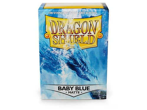 Dragon Shield Matte Baby Blue 100ct