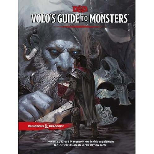 D&D Volo's Guide to Monsters HC Book 5th Edition