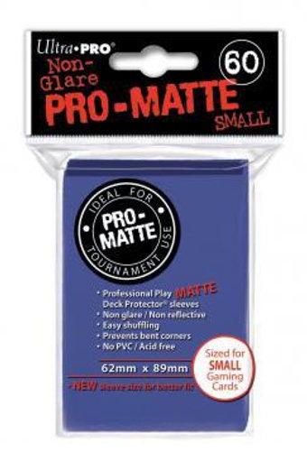 UltraPRO 60ct Deck Protector Pro Matte Small Blue
