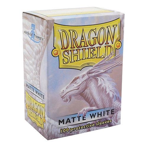 Dragon Shield Matte White 100ct