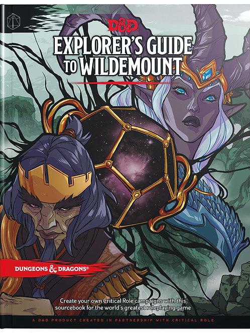 D&D Explorer's Guide to Wildemount HC Book