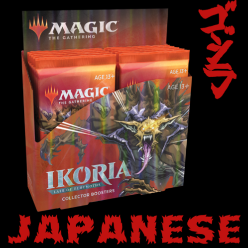 MTG Ikoria Collector Booster Box Japanese