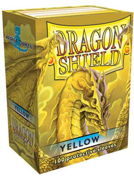 Dragon Shield Classic Yellow 100ct