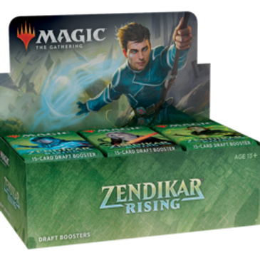 MTG Zendikar Rising Draft Booster Box