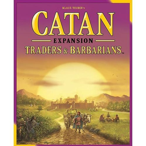 Catan Traders and Barbarians Expansion