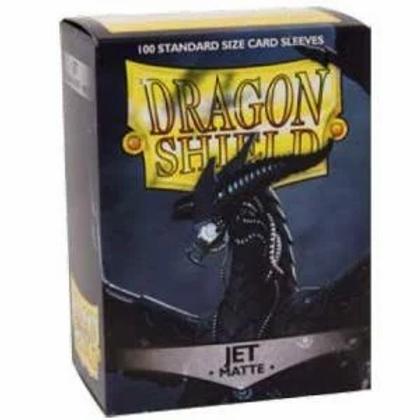 Dragon Shield Matte Jet 100ct