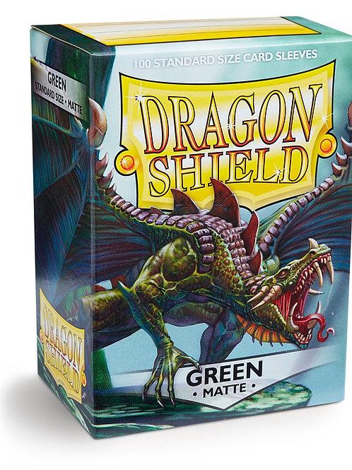 Dragon Shield Matte Green 100ct