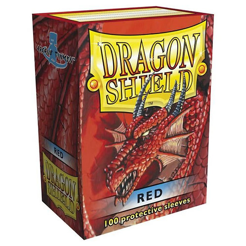 Dragon Shield Classic Red 100ct