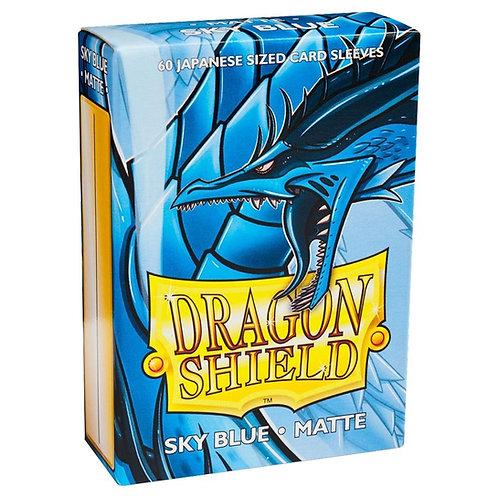 Dragon Shield Japanese Matte Sky Blue 60ct