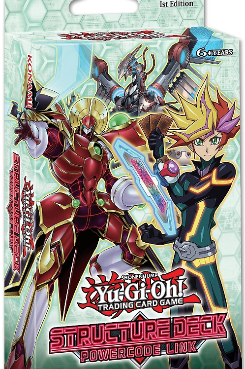 Yu-Gi-Oh! Powercode Link Structure Deck (1st Edition)