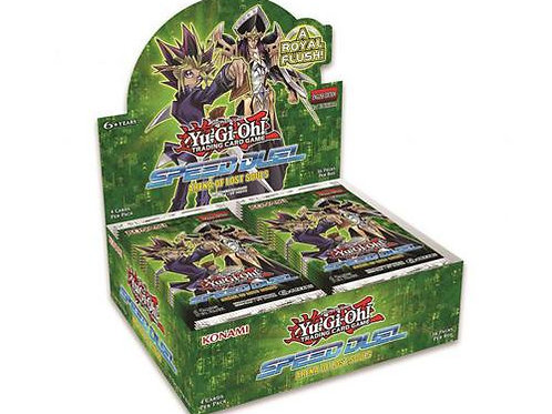 Yu-Gi-Oh! - ARENA OF LOST SOULS - SPEED DUEL BOOSTER BOX