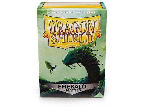 Dragon Shield Matte Emerald 100ct