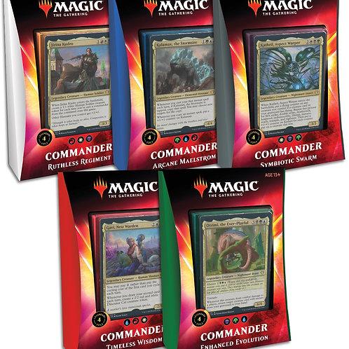 MTG Ikoria Commander: Set of 5