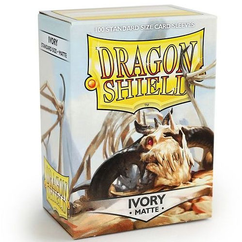 Dragon Shield Matte Ivory 100ct