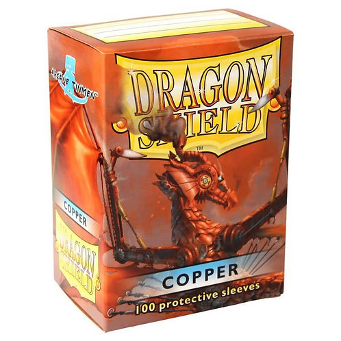 Dragon Shield Classic Copper 100ct
