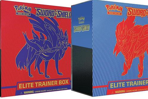Pokemon TCG Sword and Shield Elite Trainer Box