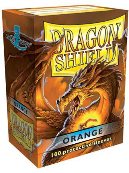 Dragon Shield Classic Orange 100ct