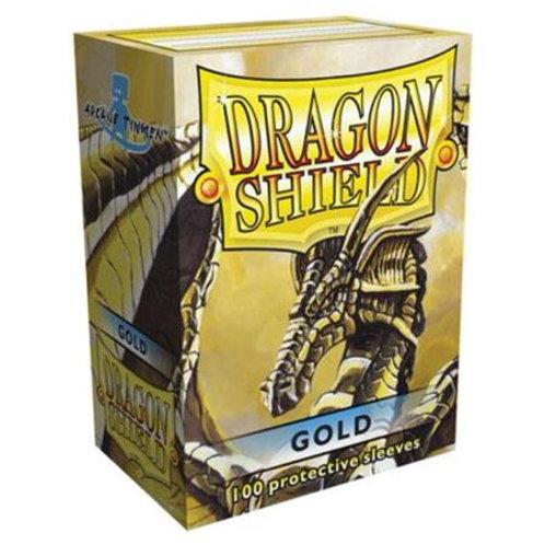 Dragon Shield Classic Gold 100ct