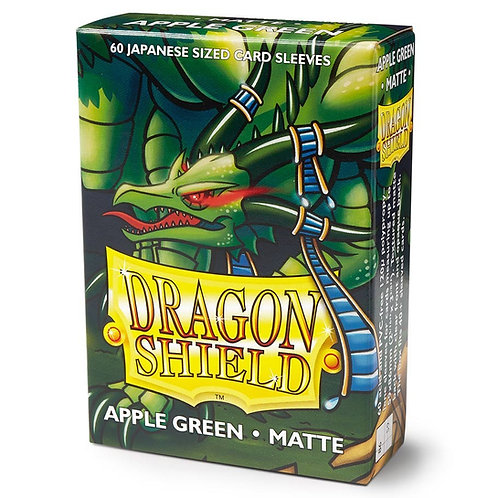Dragon Shield Japanese Matte Apple Green 60ct